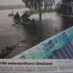 översvämning vid Målsånna