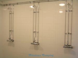 Omklädningsrum med duschar
