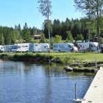 utsikt över campingen