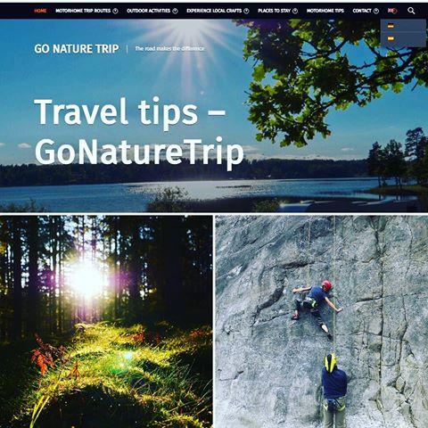 På Go nature trips sida hittar du natursköna ställplatser med aktiviteter