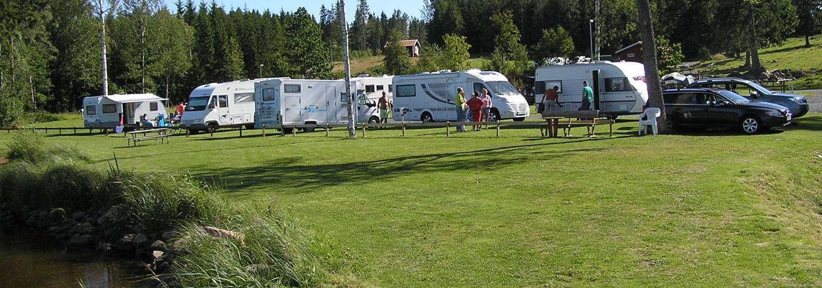 Mysiga campingplatser i Småland