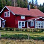 rymligt hus på landet