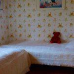 semesterboende med sovrum två enkelsängar