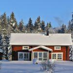 vinterbild huset rättviken