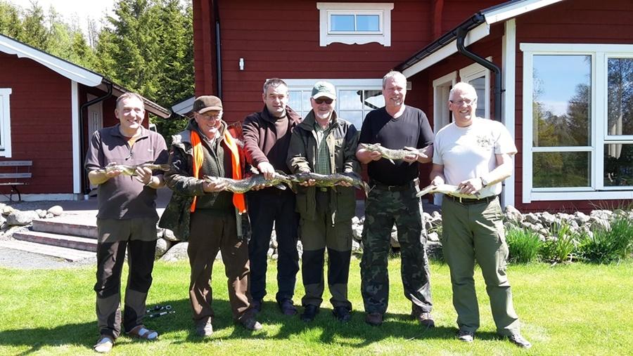 fiska i grupp