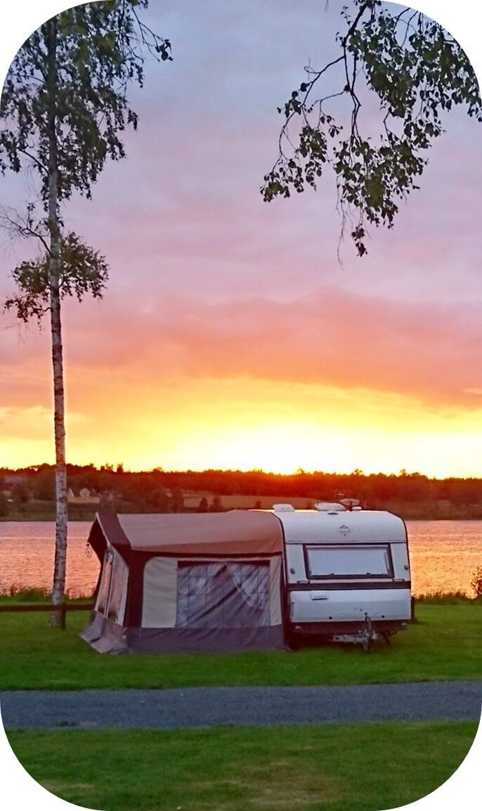 camping för naturälskare